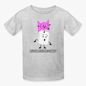 Bow and Marshmallow Double - Child's - Kids' T-Shirt