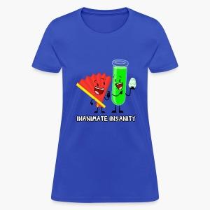Fan and Test Tube Double - Women's - Women's T-Shirt