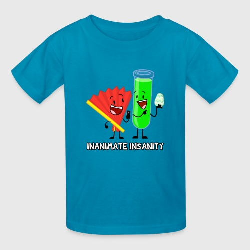 Fan and Test Tube Double - Child's - Kids' T-Shirt