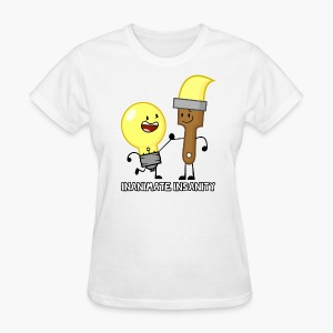 Lightbulb and Paintbrush Double - Women's - Women's T-Shirt