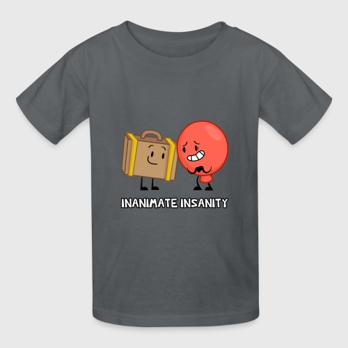 Suitcase and Balloon Double - Child's - Kids' T-Shirt
