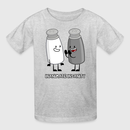 Salt and Pepper Double - Child's - Kids' T-Shirt