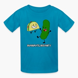 Taco and Pickle Double - Child's - Kids' T-Shirt