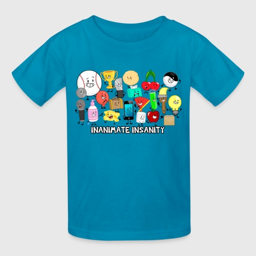 Traditional Inanimate Insanity Group - Child's - Kids' T-Shirt