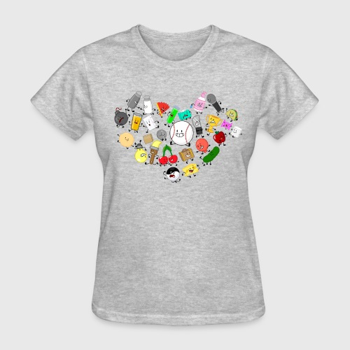 Inanimate Insanity Heart Group - Women's - Women's T-Shirt