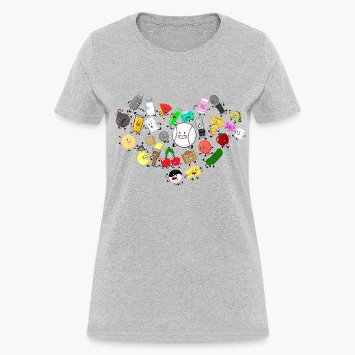 Inanimate Insanity Heart Group - Women's - Women's T-Shirt