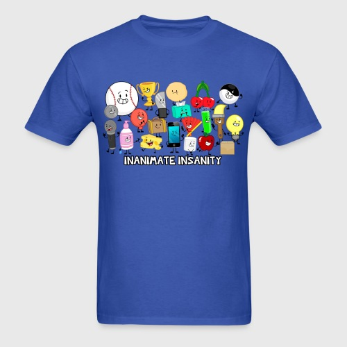 Traditional Inanimate Insanity Group - Men's - Men's T-Shirt