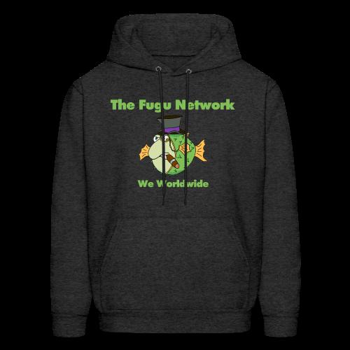 The Fugu Network Lightweight Mens Hoodie - Men's Hoodie