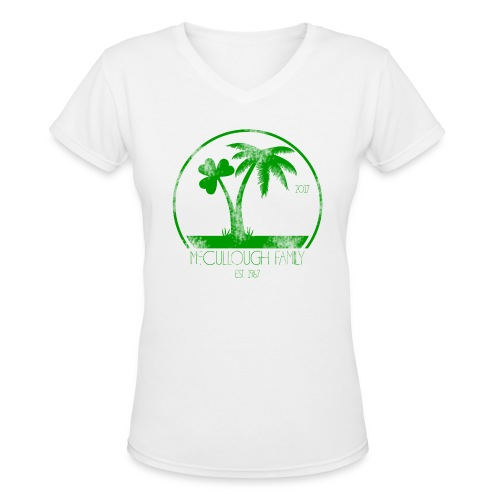 ADULT WOMENS V-NECK - Women's V-Neck T-Shirt