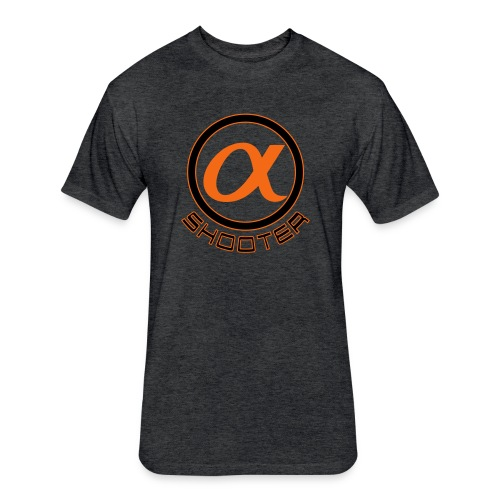 Alpha Shooters T - Fitted Cotton/Poly T-Shirt by Next Level