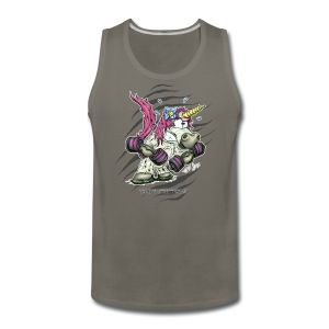 train like a unicorn - Men's Premium Tank