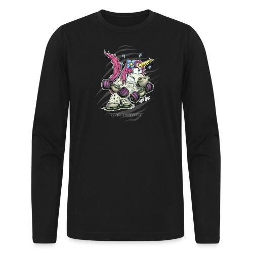 train like a unicorn - Men's Long Sleeve T-Shirt by Next Level