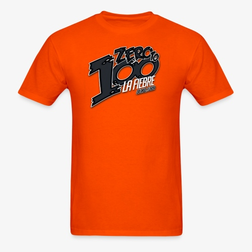Zero neon Orange - Men's T-Shirt