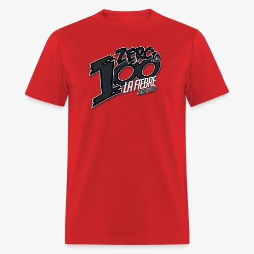 Zero neon Red - Men's T-Shirt