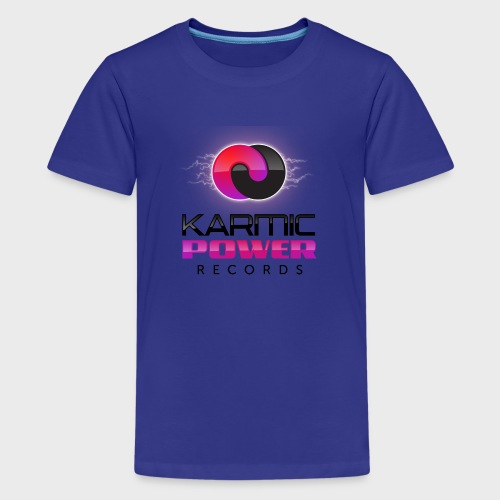 Kid´s T-Shirt Karmic Power Records  - Kids' Premium T-Shirt