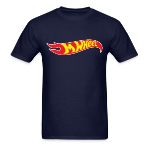 M-Wheel - Men's Navy - Men's T-Shirt