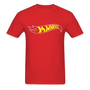 M-Wheel - Men's Red - Men's T-Shirt