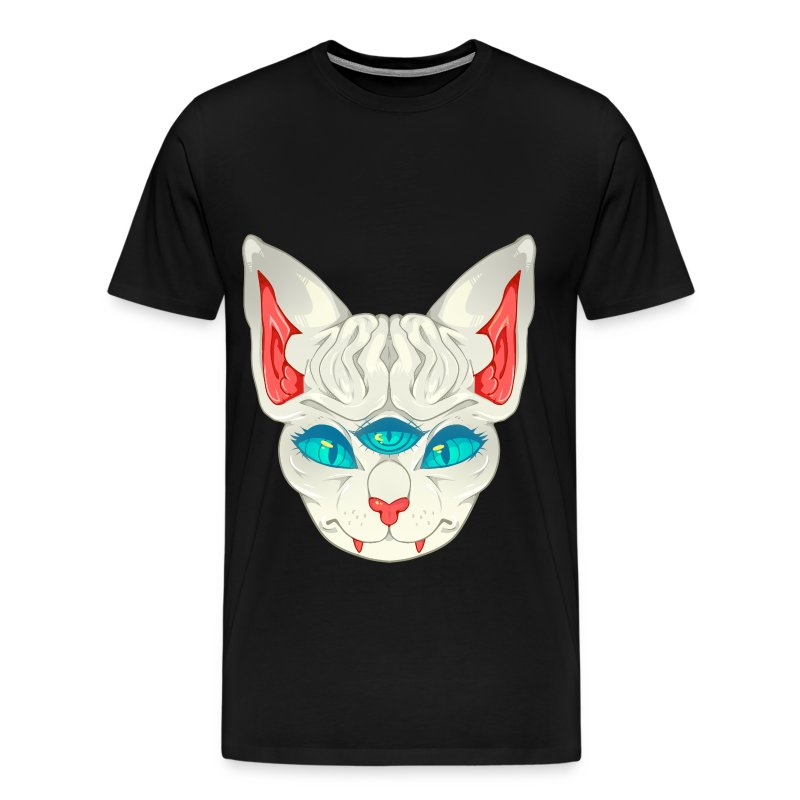 All Seeing Sphynx: C - Men's Premium T-Shirt