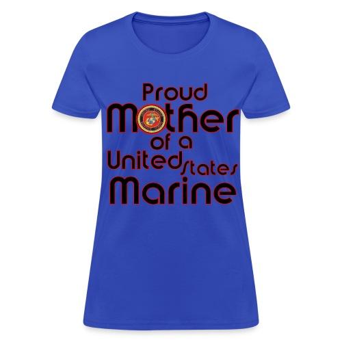 mother of marine - Women's T-Shirt