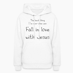Fall in love w/Jesus Hoodies