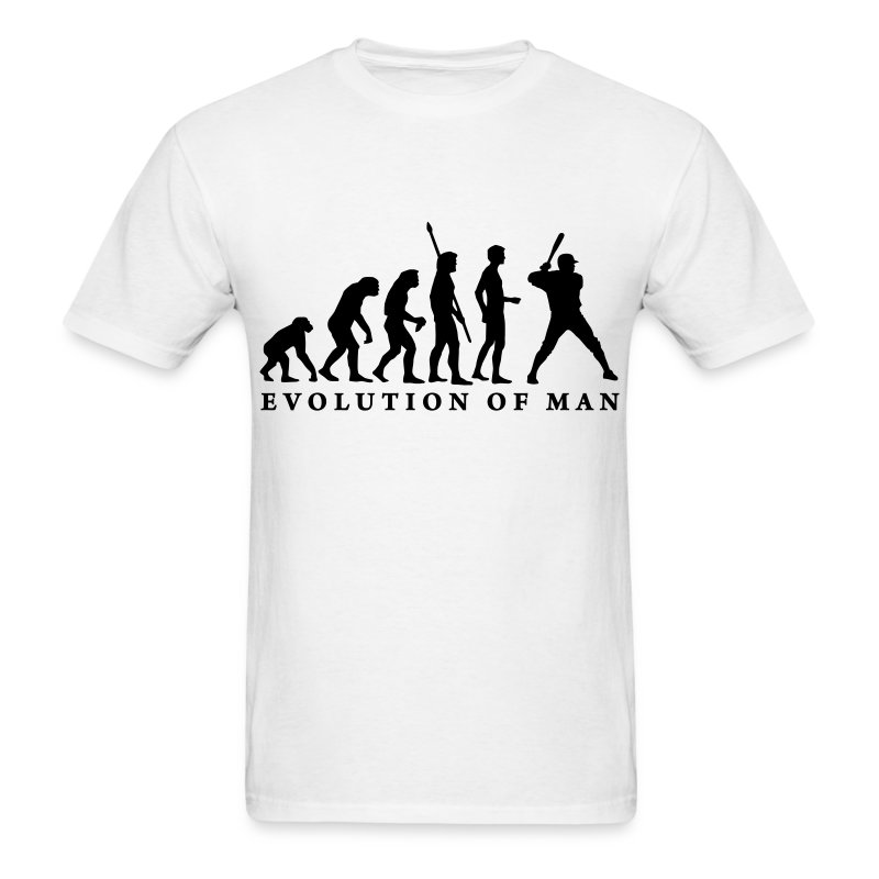 evolution_baseball_b_2c - Men's T-Shirt