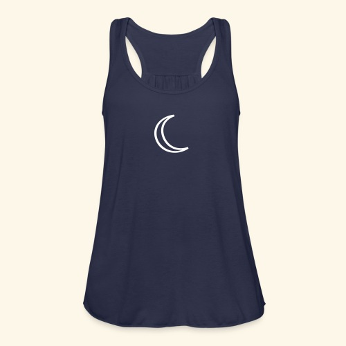 Moon - Women's Flowy Tank Top by Bella