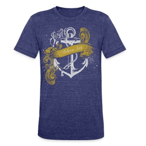 Anchored (premium) - Unisex Tri-Blend T-Shirt