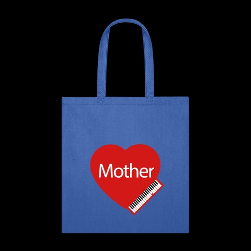 Mother's Day Heart & Piano - Tote Bag