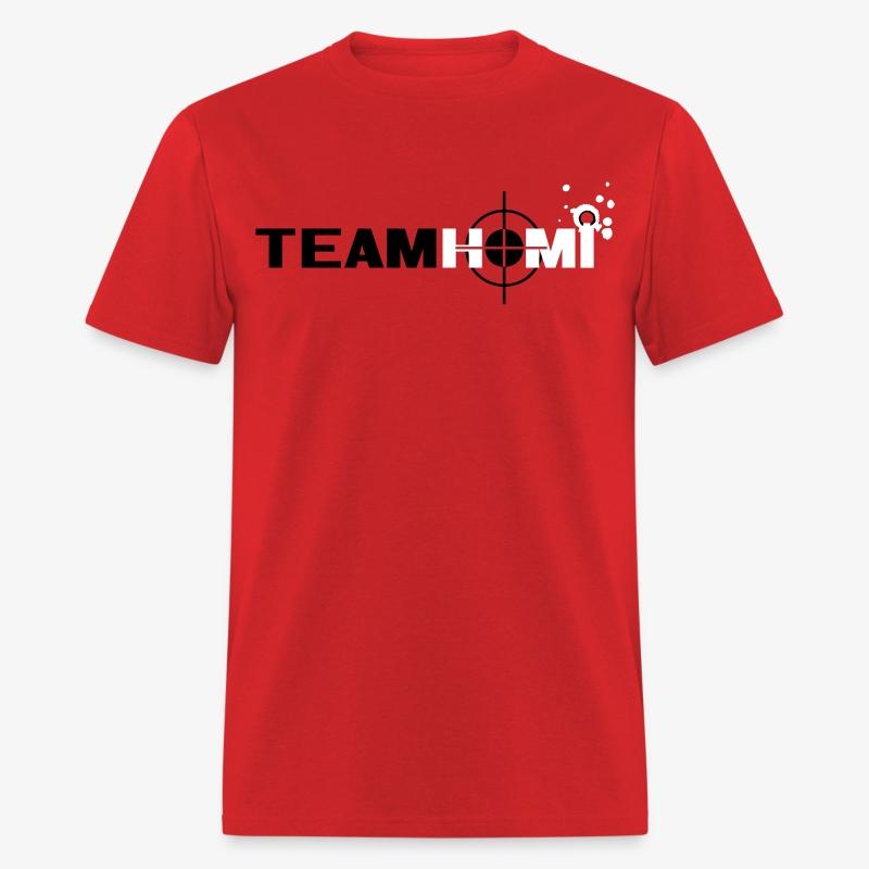 Team Homi - Men's (red) - Men's T-Shirt