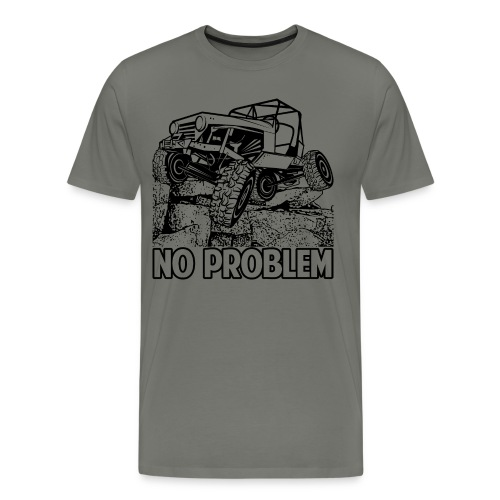 No Problem Rock - Men's Premium T-Shirt