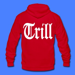Trill Zip Hoodies/Jackets - stayflyclothing.com - Unisex Fleece Zip Hoodie by American Apparel