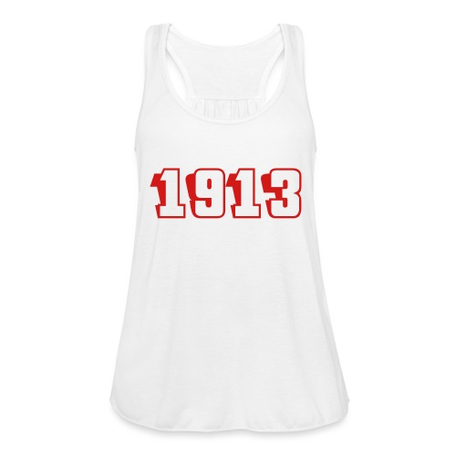 1913 tank (red text) - Women's Flowy Tank Top by Bella