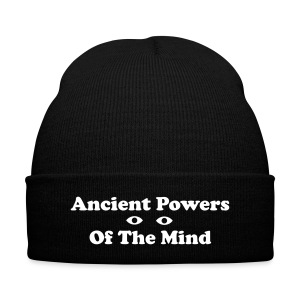 Ancient Powers Of The Mind cap - Knit Cap with Cuff Print