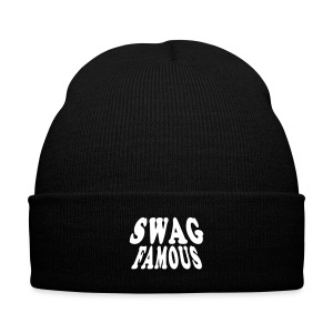 Swag Famous knit cap - Knit Cap with Cuff Print