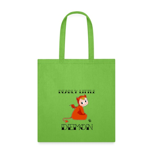 Deadly Little Demon Tote - Tote Bag