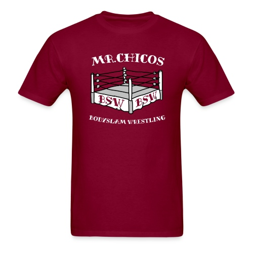 Mr Chicos Bodyslam Wrestling - Men's T-Shirt
