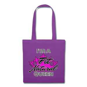 I'm a Fit Natural Queen (White) Tote Bag - Tote Bag