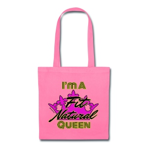 I'm a Fit Natural Queen (Yellow) Tote Bag - Tote Bag