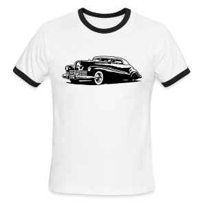 41 Buick Kustoms Los Angeles on the Back Two tone Shirt. - Men's Ringer T-Shirt