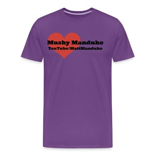 Mushy Manduke YouTube Shirt - Men's Premium T-Shirt
