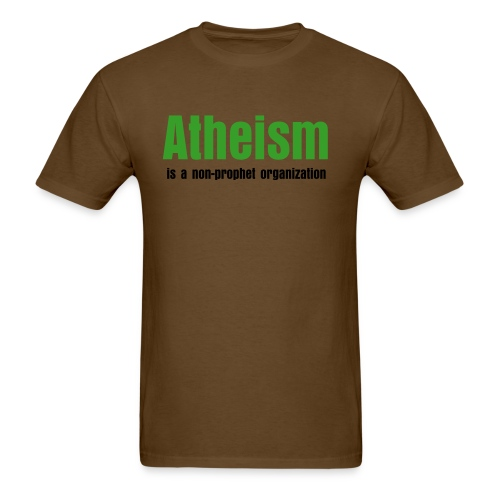 Atheism - Men's T-Shirt