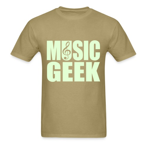 Music Geek t Shirt - Men's T-Shirt