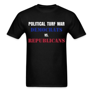 Political Turf War - Men's T-Shirt