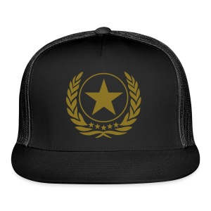 gold star cap - Trucker Cap