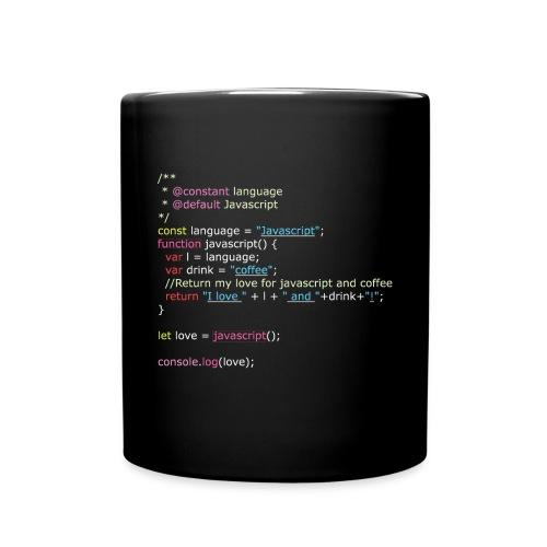 I Love Javascript (Mug) - Full Color Mug