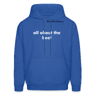 Hoodies ~ Men's Hoodie ~ All about the beef