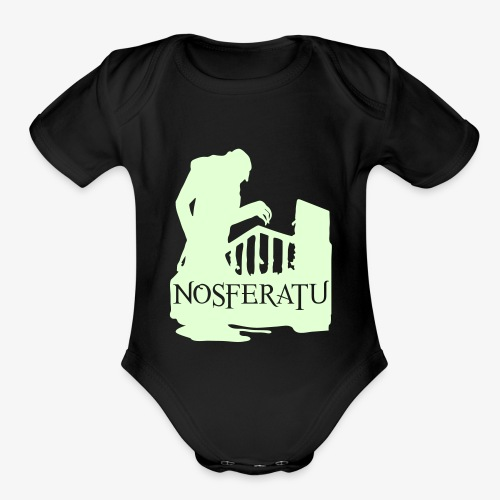 Nosferatu The Vampyre - Organic Short Sleeve Baby Bodysuit