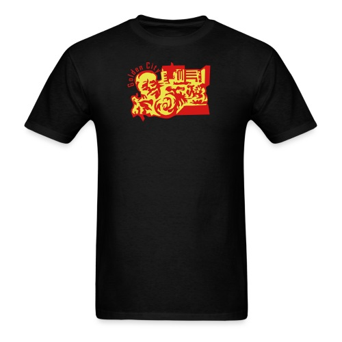 Golden City - Men's T-Shirt
