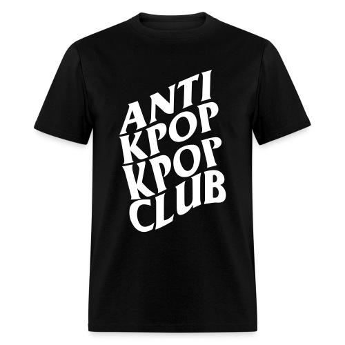 Anti Kpop Kpop Club (Front print only) - Men's T-Shirt