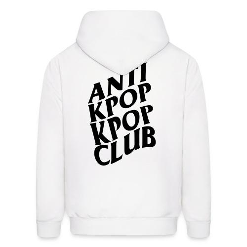 Anti Kpop Kpop Club (Front & Back Print) - Men's Hoodie